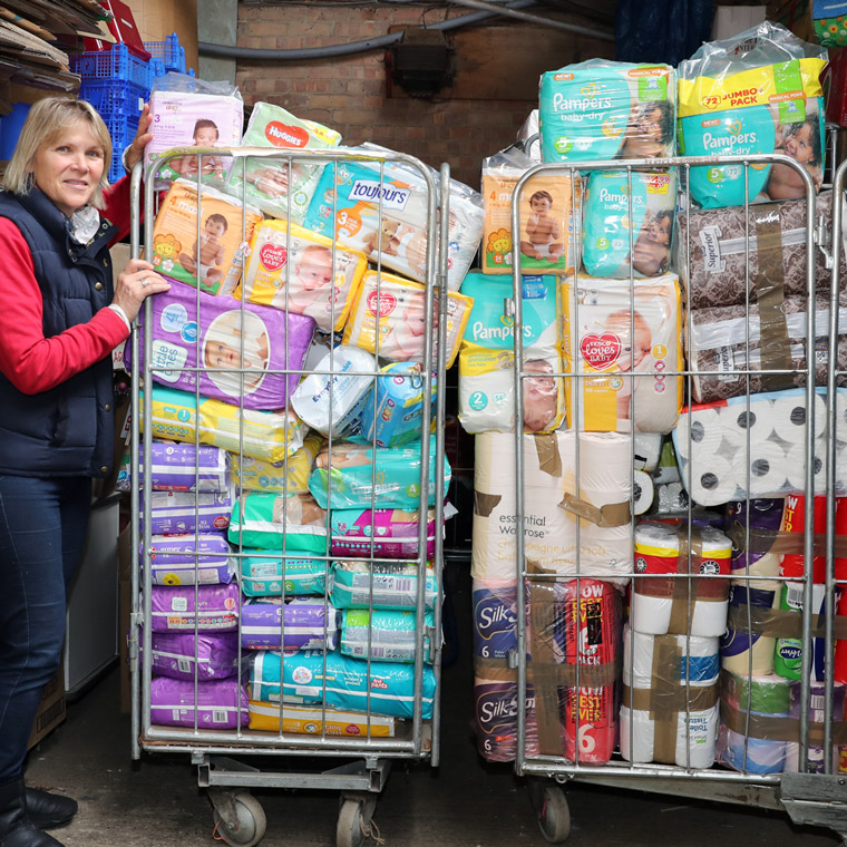 Latest aid trip to Chernihiv, Ukraine